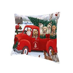 Doggie of the Day Christmas Santa Express Delivery Goldendoo