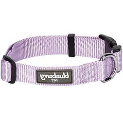 Blueberry Pet 32 Colors Classic Dog Collar, Lavender, Small,