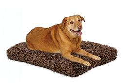 Plush Dog Bed | Coco Chic Dog Bed & Cat Bed | Cocoa 48L x 30