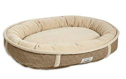 Orvis Comfortfill Wraparound Dog Bed with Fleece/Large Dogs