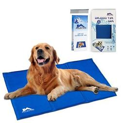 Whalek Cooling Mat Pressure Activated Chilly Dog Cat Bed 36