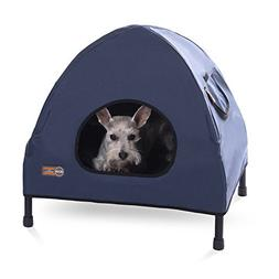 K&H Pet Products Original Pet Cot House Small Navy Blue - In