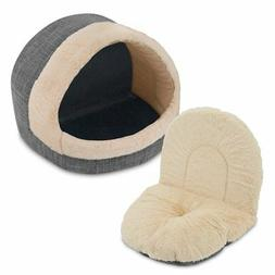 Cozy Cat Cave Medium Pet Cave Tent Bed Houses for Dogs Cats