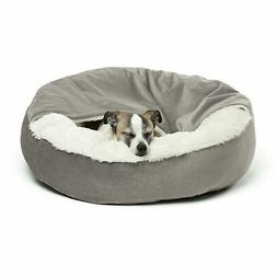 Best Friends by Sheri Cozy Cuddler, Grey – Luxury Dog and