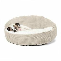 cozy cuddler pet bed oyster 26 x26