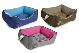 Cozy Pet Bed for Small Medium Breed Dog Cat Cushion House Pu