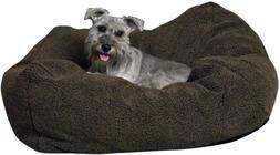 K&H Manufacturing Cuddle Cube Large Mocha 32-Inch by 32-Inch