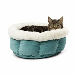 Best Friends by Sheri Cuddle Cup Pet Bed, Tide Pool