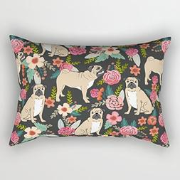 Cushion Covers Of Dogs 18 X 26 Inches / 45 By 65 Cm Best Fit