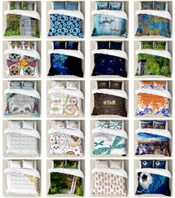 Decorative Bedroom Bedding Set with Shams and Duvet Cover by