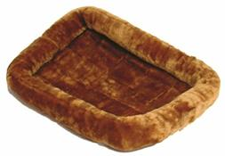 MidWest Deluxe Bolster Pet Bed for Dogs & Cats; Pet Bed Meas