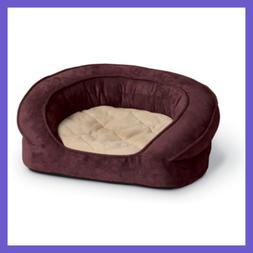 K&H Pet Products Deluxe Ortho Bolster Sleeper Pet Bed Medium