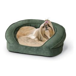 K & H Pet Products Deluxe Ortho Bolster Sleeper Bed