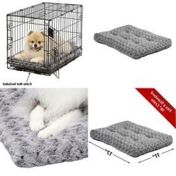 Midwest Homes For Pets Deluxe Pet Beds   Super Plush Dog  Ca