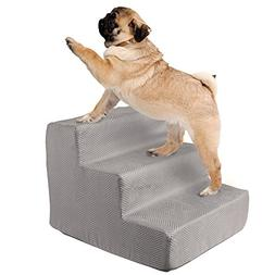 PETMAKER High Density Foam Pet Stairs 3 Steps with Machine W