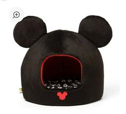 Mickey Mouse Dome Pet Bed Disney Enclosed Small Dog/Cat Port