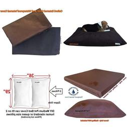 Dogbed4Less Diy Do It Yourself Pet Pillow 2 Covers: Pet Bed