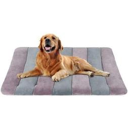 JoicyCo Large Dog Bed 42 Crate Pad Mat Washable Anti-Slip Do