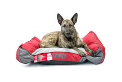 Kong Dog Bed - Red - Chew Resistant - Machine Washable Cover