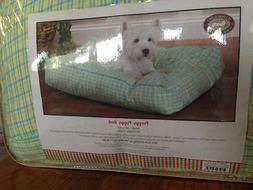 Dog Bed / Cat Bed / Pet Bed - Slumber Pet Preppy Puppy Bed -