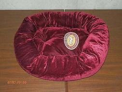 Dog Bed / Cat Bed / Pet Bed - Slumber Pet Velour Snuggler Be