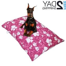 Dog Bed Cover Only Jumbo Large Heavy Material Zipped Washabl