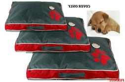 Dog Bed Cover Water Resistant Oxford Liner Cover for Pet Bed