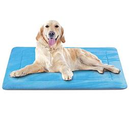 Dog Bed Large Crate Pad Mat 42 In- Machine Washable Anti-Sli