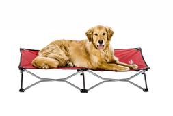 Dog Bed Elevated EXTRA LARGE Outdoor Raised BedPet Portable