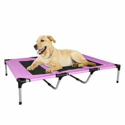 Dog Bed Elevated Indoor Outdoor Portable Patio Bed For Pets