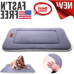 Dog Bed Kennel Pad Crate Mat Washable Chew Proof Orthopedic