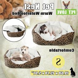 Dog Bed Kennel Small Cat Pet Puppy Bed Soft Cotton Winter Wa