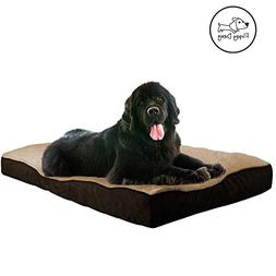 XL Dog Bed Made for Dogs Over 80 Pounds and Removable Cover