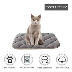 Dog Bed Mat Crate Mat with Anti-Slip Bottom Machine Washable