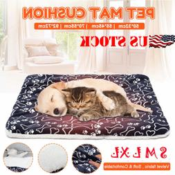 Dog Bed Mattress Cushion Waterproof Washable Double Sided Pu