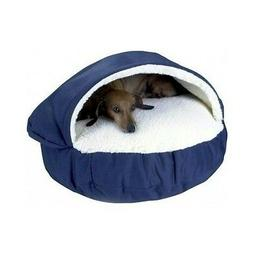 Dog Bed Orthopedic Foam Comfortable Soft Plush Snoozer Cave