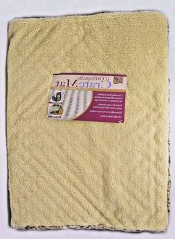 """New dog bed 23"""" x 17""""  Orthopedic Washable BROWN  Extra Plus"""