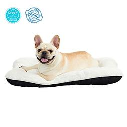 ANWA Dog Bed Pet Cushion Puppy Bed Crate Bed Mat Soft Durabl