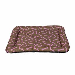Dog Bed Pet Kennel Cushion Mat Crate Cage Pad Waterproof, Br