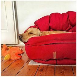NufNuf Dog Bed -Removable Layers & Covers, Machine Washable-