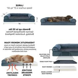 Furhaven Pet Dog Bed | Sofa-Style Couch Pet Bed For Dogs  Ca