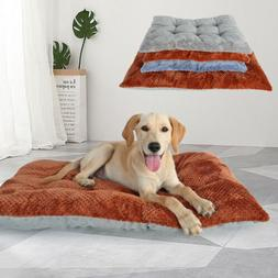 Dog Beds for Large Dogs Clearance Plush Pet Cat Cushion Warm
