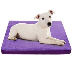 Dog Beds for Small Dogs Foam Crate bed Mattress With Anti-Sl