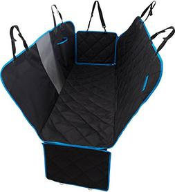 MOVEPEAK Dog Car Seat Covers - Deluxe Waterproof Pet Rear Be