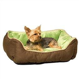 Svitlife Small Dog Cat Pet Bed Lounger Self-Warming in Mocha