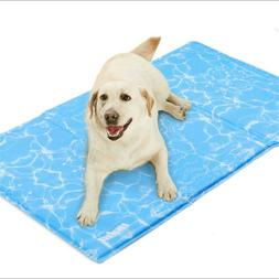 Dog Cooling Gel Cooling Pad Mat for Dogs & Pets Avoid Overhe
