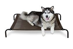 Furhaven Pet Dog Cot | Elevated Reinforced Pet Cot for Dogs