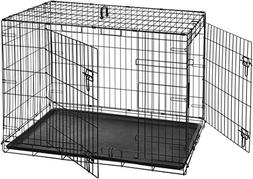 Xxl Dog Crate Chain Link Dog Kennel Outdoor Pet Big Dog Cage