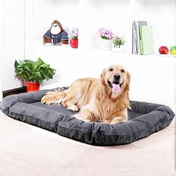 AikoPets Dog cushion Pet Bolster Bed Deluxe Orthopedic Chais