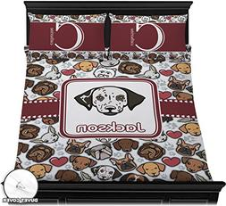 RNK Shops Dog Faces Duvet Cover Set - Full/Queen